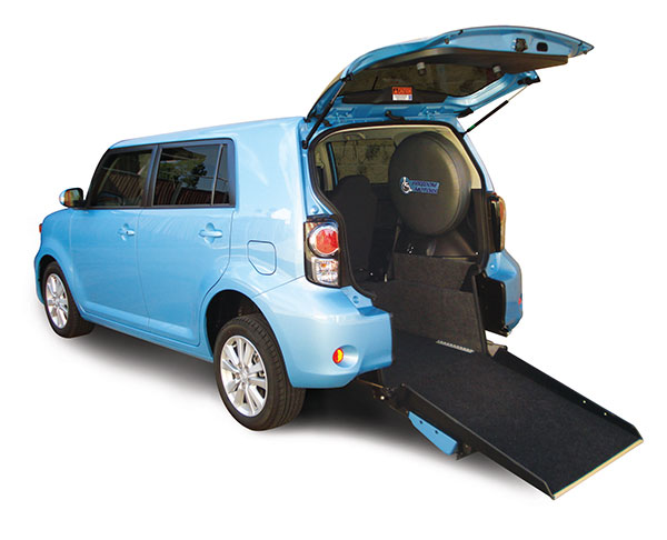 The Toyota Rukus Freedom Van wheelchair accessible conversion