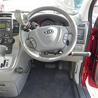 Freedom Self Drive handicap / disability vehicle conversions gallery - Freedom-Driving-Controls