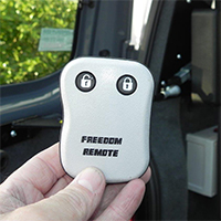 Freedom Self Drive handicap / disability vehicle conversions gallery - Freedom-Remote-Control-Tailgate-and-Ramp