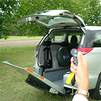 Freedom Self Drive Wheelchair accessible vehicle conversions gallery - Freedom-Remote-Tailgate-and-Ramp-System