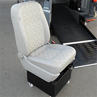 Freedom Self Drive handicap / disability vehicle conversions gallery - Freedom-Removable-Seating