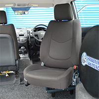 Freedom Self Drive Wheelchair accessible vehicle conversions gallery - Freedom-Transfer-Seat