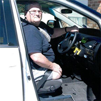 Freedom Self Drive handicap / disability vehicle conversions gallery - Transfer Seat