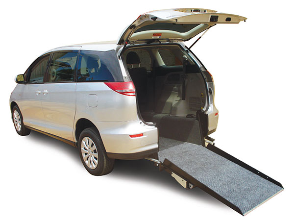 The Toyota Tarago Freedom Van wheelchair access conversion